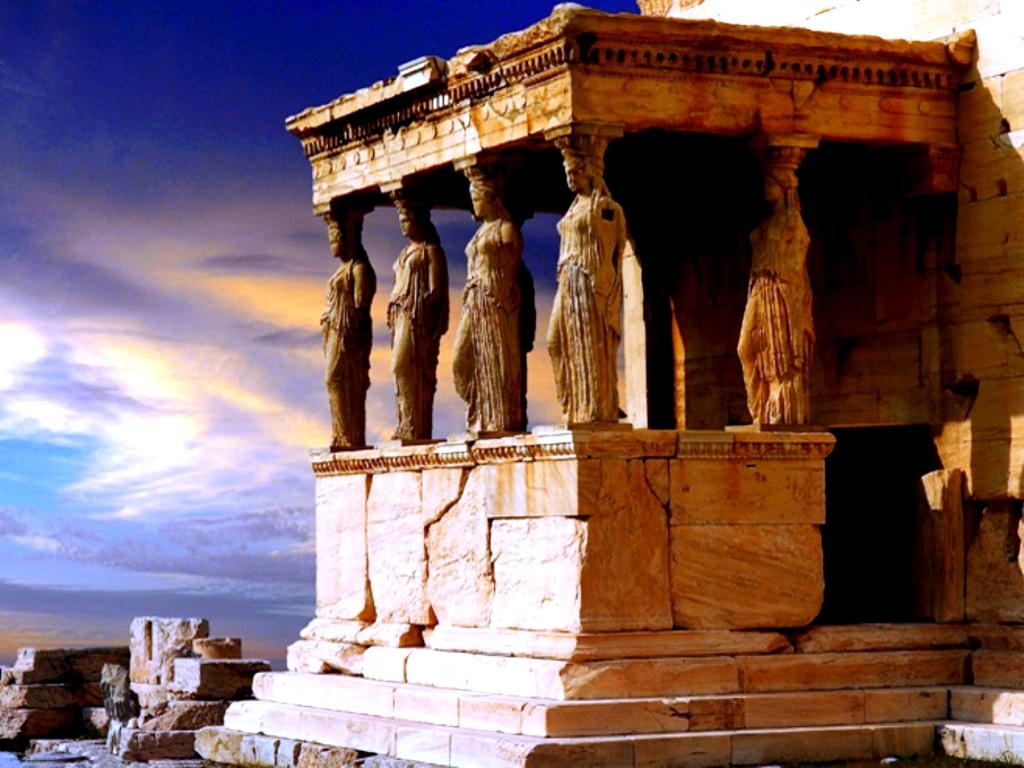 скульптуры акрополя