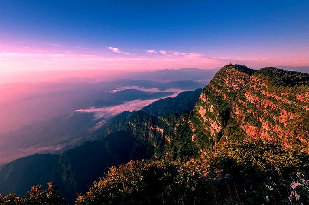 ландшафт Эмэйшань