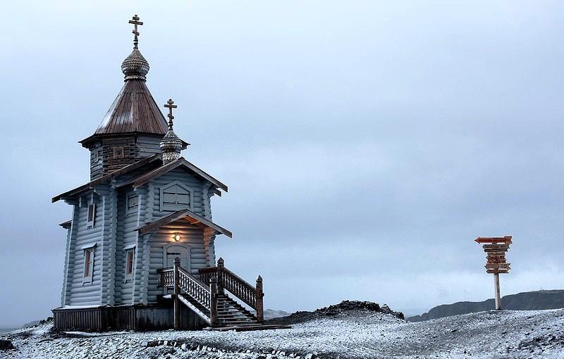 церковь в антарктике