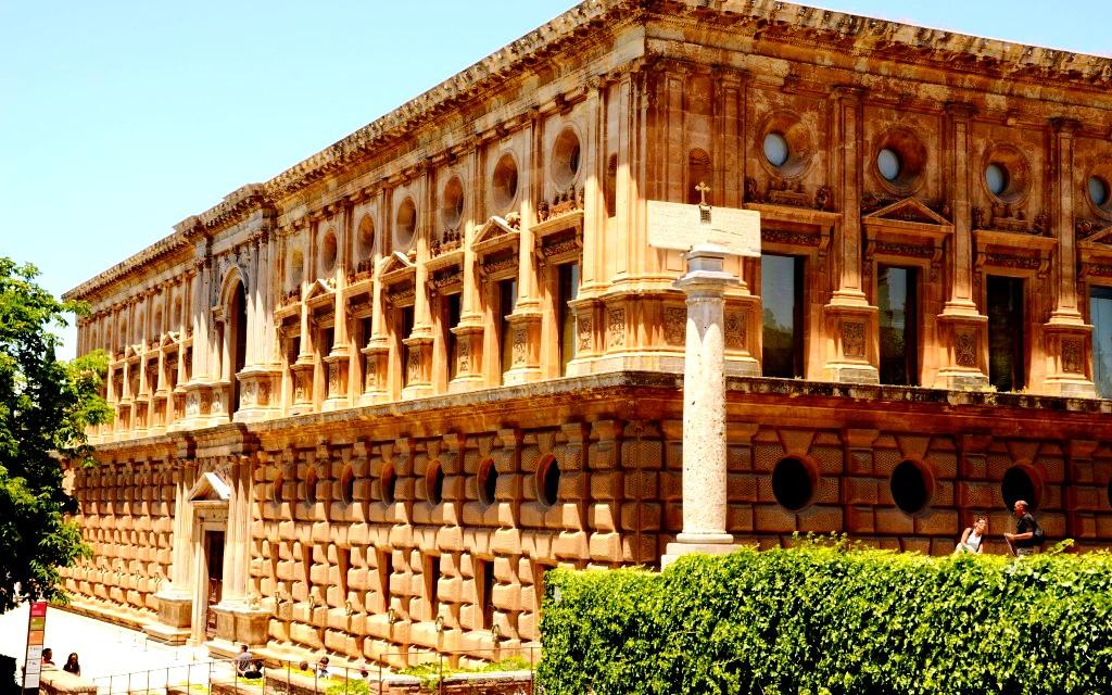 постройки альгамбры