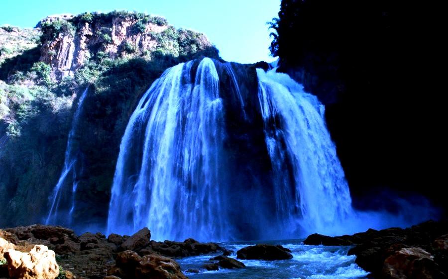 водопад шилиня