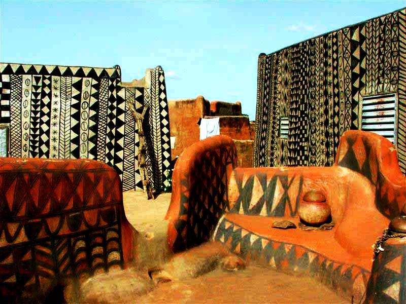 постройки тьебеле