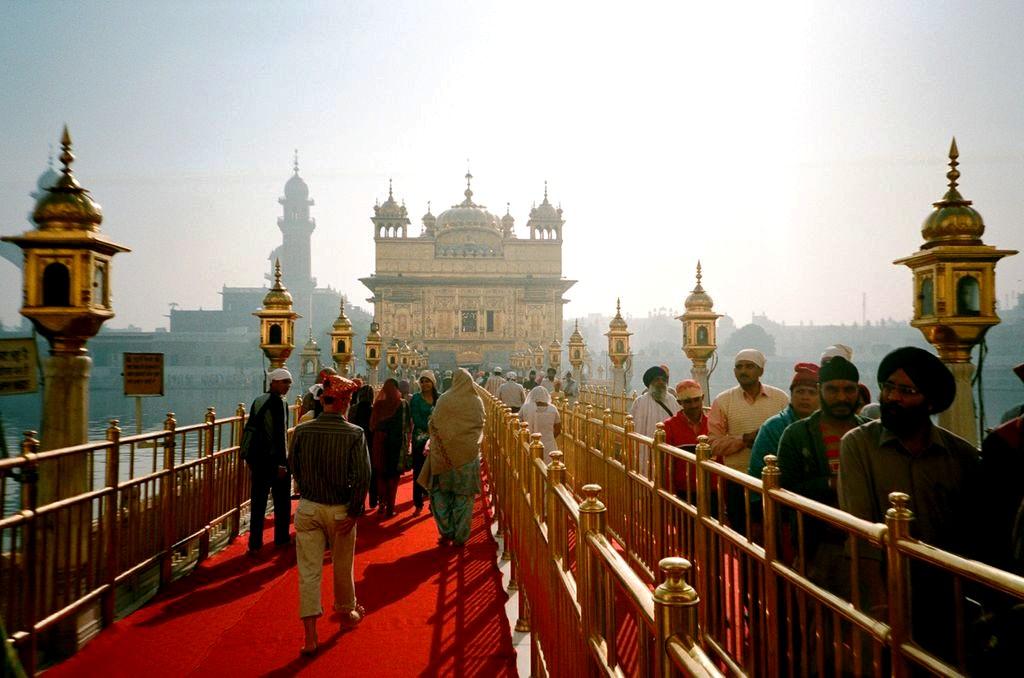 дорога к Золотому храму