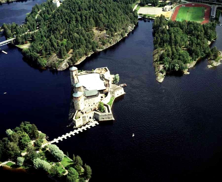 мост олафсборга