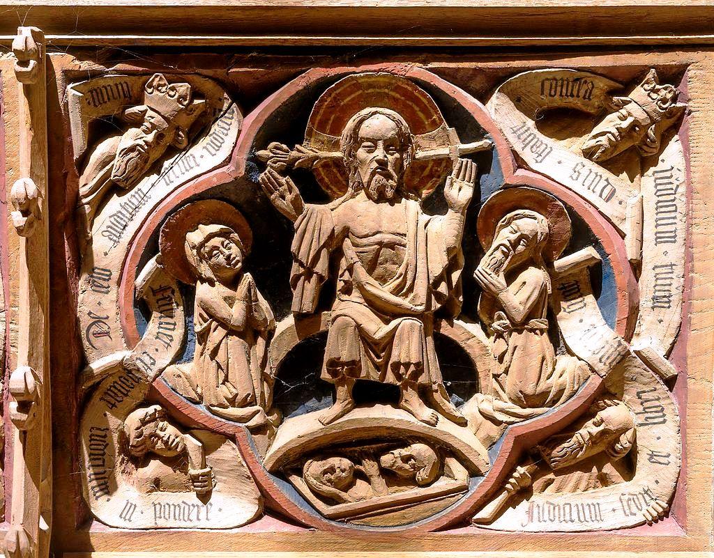 барельефы собора в роскилле