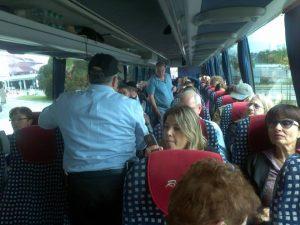 עוד קבוצה באוטובוס של TOUR POLAND