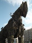 Trojan Horse used in the movie Troy