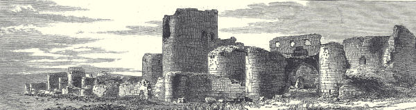 Engraving of Ani Ruins from late 1800s