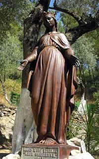 Statue of Virgin Mary at the House of Virgin Mary