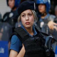 Police Girl in Turkey