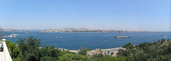 Bosphorus View from Topkapi Palace