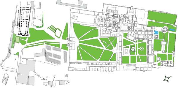 Plan of the Topkapı Palace
