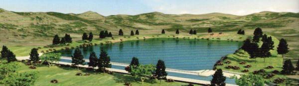 Hittite Dam in Alacahoyuk