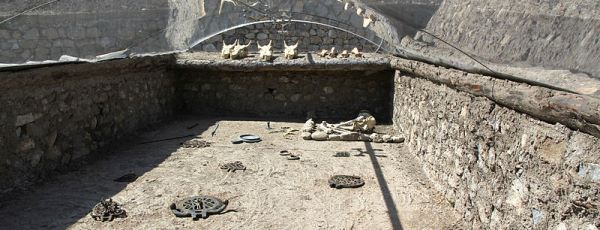 King Graves in Alacahoyuk