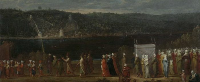 A Turkish wedding at the time of the Ottoman Empire