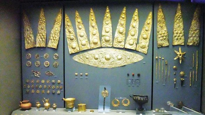 Plundered Troy Treasures in Moscow Pushkin Museum