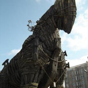Trojan Horse Made for the 2004 Movie, Troy