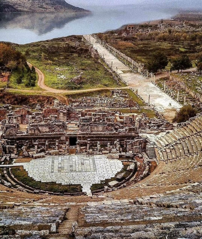 Ephesus Port during 1st Century
