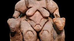 Cybele Statue in the Museum of Anatolian Civilizations in Ankara