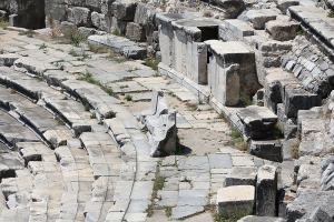 Theater Seats of the Rich in Miletus