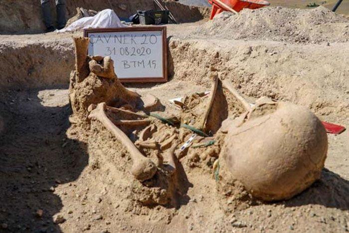 Urartian Women's Skeleton