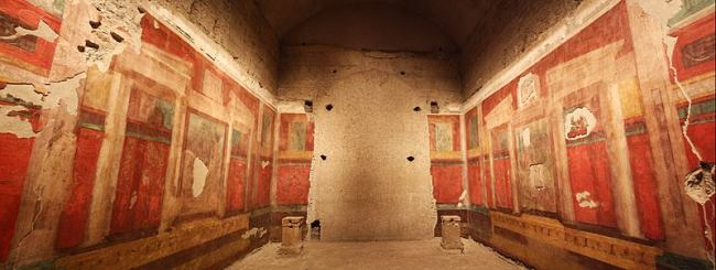 House of Emperor Augustus which is similar to Terrace Houses in Ephesus