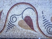 Mosaic recently found in Istanbul