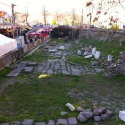 Roman Road in Ankara