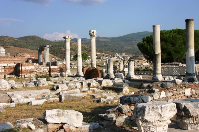 Saint John's Basilica Nearby Ephesus