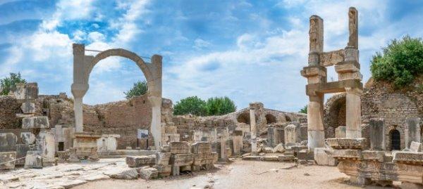 Temple of Domitian in Ephesus