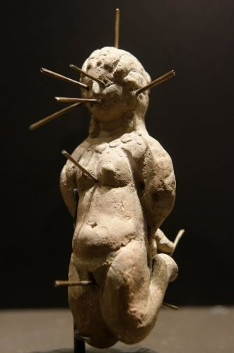 An ancient curse doll which worked similar to commonly known Voodoo dolls today