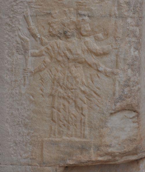 Goddess Hecate Relief Under the Mazeus and Mithridates Gate in Ephesus