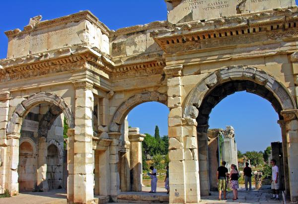 Mazeus and Mithridates Gate in Ephesus