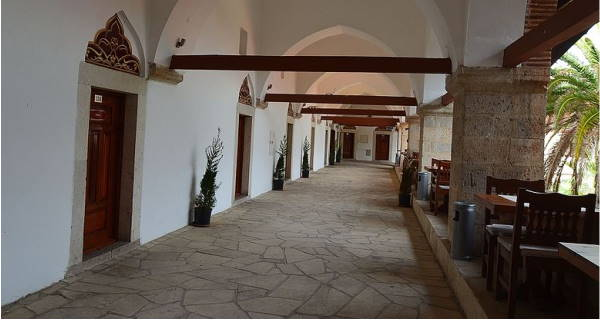 Second Floor of Okuz Mehmet Pasa Caravansary in Kusadasi