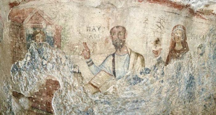 Grotto of Apostle Paul in Ephesus 1