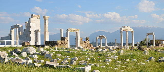 Baths of Laodicea on the Lycus