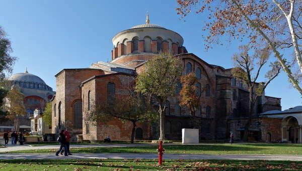 Hagia Irene of Byzantine Empire