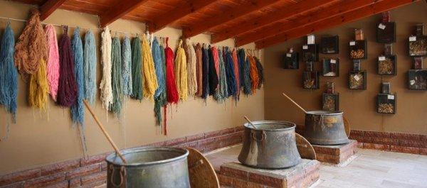 Wool Dyeing to Make a Handmade Turkish Carpet