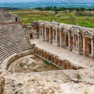 Hierapolis Ancient City in Turkey