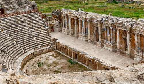 Hierapolis Ancient City in Turkey