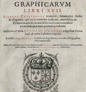 Strabo and Geographica