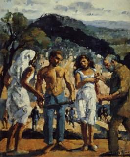 antigone peinture