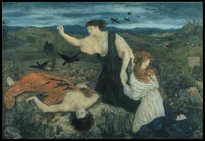 tableau Antigone  Marie Stillman
