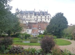 logis royal loches jardin