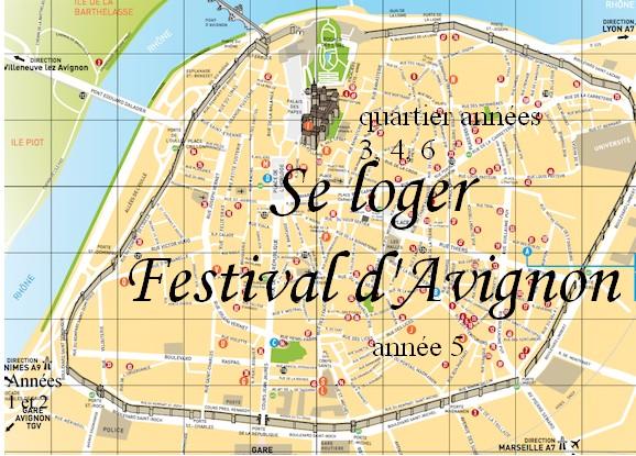 logement hebergement festival Avignon conseil bon plan