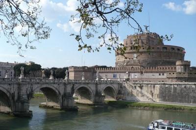 Rome chateau Saint Ange
