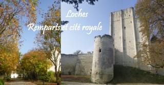 visiter loches cite royale donjon rempart