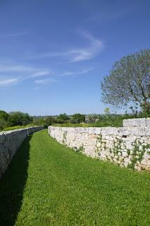 mur pierre seche salento pouilles