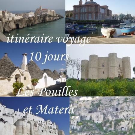voyage Les Pouilles et Matera
