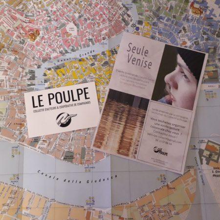 Lecture de Seule Venise Claudie Gallay , par Laurène Nouvellon, dirigée par Elisa Mabit, compagnie (in)Human du Collectif le poulpe festival de poche tours